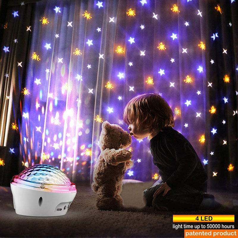 Star Light Projector for Bedroom, Christmas Star Projector Night Light for Kids, Starry Night Lights for Bedroom Room with 4 Modes and Timer Setting,Best Gift Christmas Birthday for Baby Children