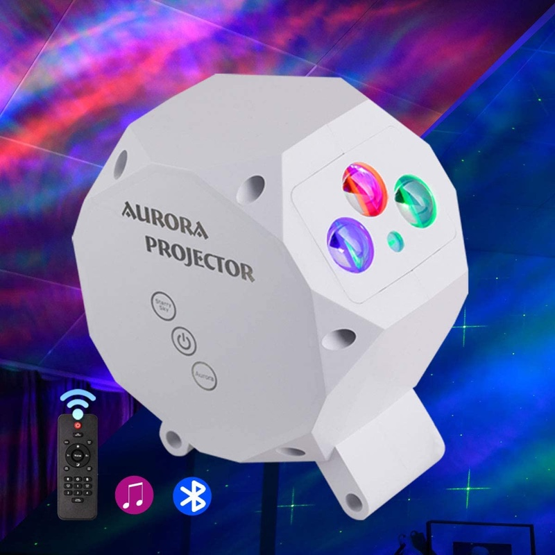 Night Light Star Projector with Bluetooth Speaker  and Remote